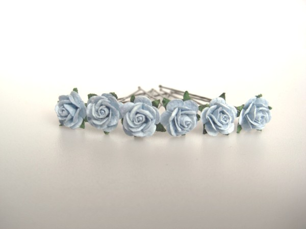 cornflower blue small roses