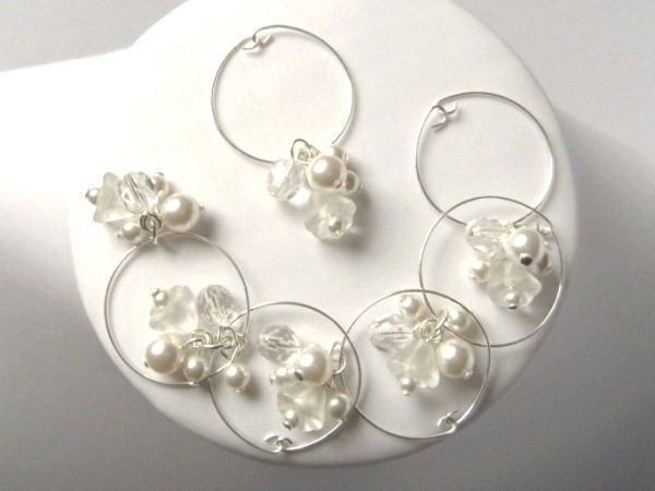Wine Glass Charms - Wedding Accessorries